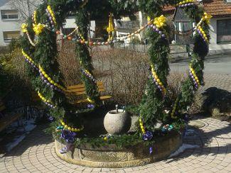 Osterbrunnen in Redwitz