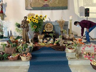 Erntedank in der Josefskirche